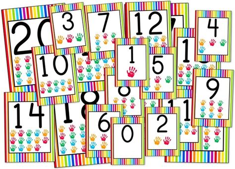 printable rainbow numbers top 29 ideas about pre k colors rainbows on pinterest