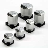 capacitor hxa condensateurs 233 lectrolytiques aluminium polym 232 re hybrides s 233 rie hxa united chemi con digikey