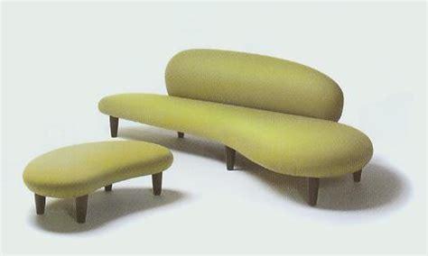 isamu noguchi sofa furniture fashionthe modern freedom sofa and ottoman by