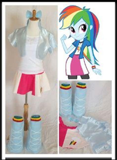 Gamis Rainbow Sz 3 rainbow dash from rainbow rocks top skirt boots ears belt