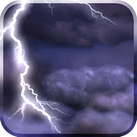 thunderstorm  wallpaper   android gratis
