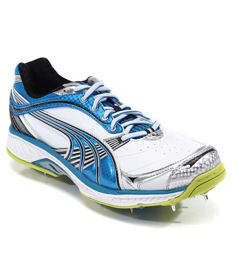 spike sport shoes karbon convertible spike white sport shoes price in