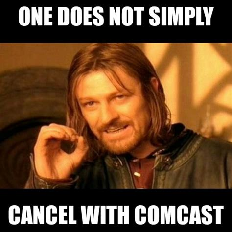 Comcast Meme - beheading boredom keep yourself entertained don t let