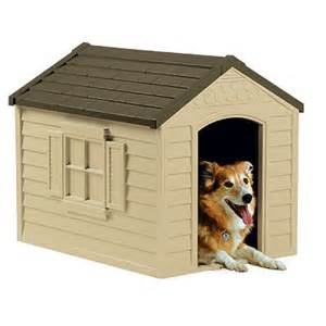 Small Dogs For New Home Suncast Small Deluxe Plastic House