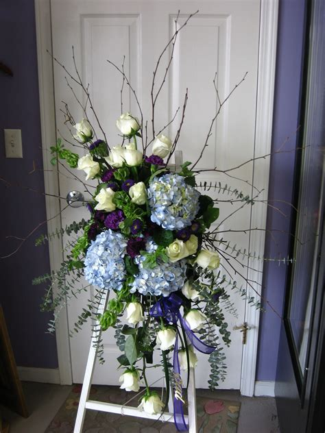 funeral colors a beautiful sympathy spray by amazing petals the