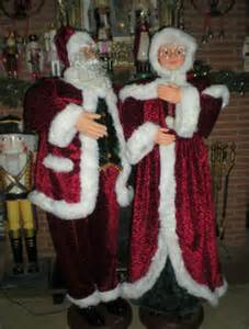 animated 5 foot 3 quot size santa claus singing and prop ebay