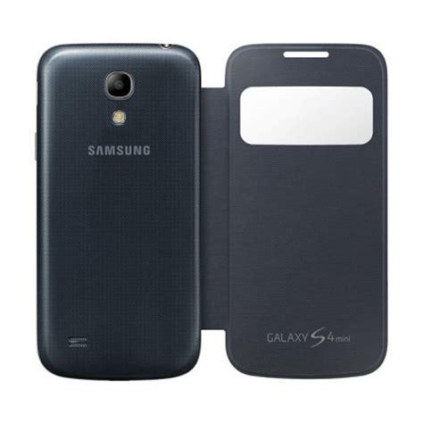 Cover Samsung Galaxy S4 Mini cover s view originale samsung per galaxy s4 mini nero