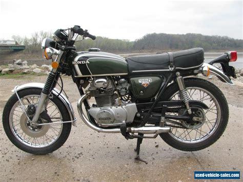 1972 honda cb for sale in canada