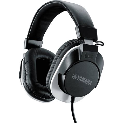 Headset Yamaha yamaha hph mt120 studio monitor headphones black hph mt120bl