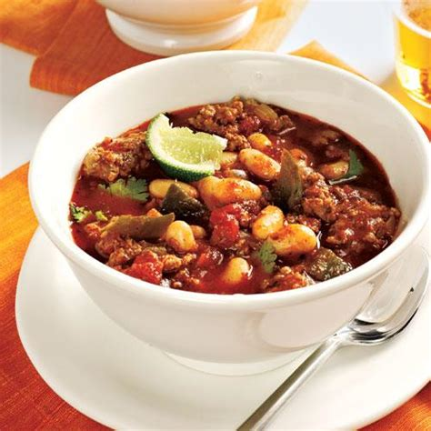 turkey and bean chili 25 best soups cooking light