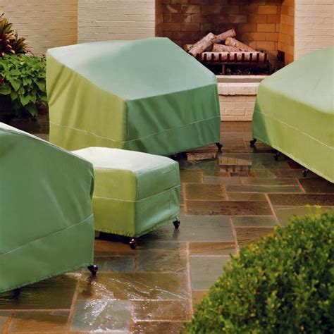 Frontgate Patio Furniture Covers High Performance Rainshield Outdoor Furniture Covers Frontgate