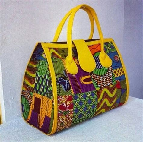 Handmade Bags Design - fabric handmade bag ankara design by sjwonderboutique