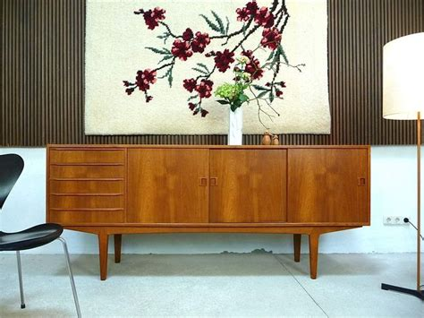 living room sideboards and cabinets mid century modern teak sideboard credenza cabinet denmark 1960s living room