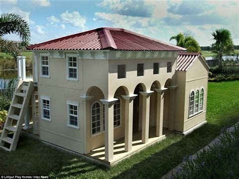 Two Story House Plans With Front Porch by Inside The Lilliput Play Homes Custom Built For Children