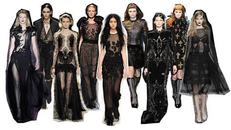 Gothic Designers | interpreting narrative the great gatsby gothic fashion