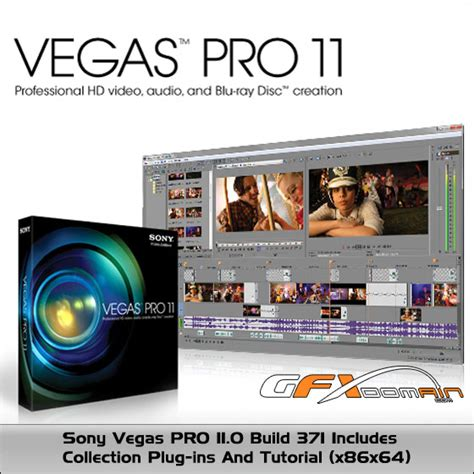 tutorial editing vegas pro 11 sony vegas pro 11 0 build 371 includes collection plug ins