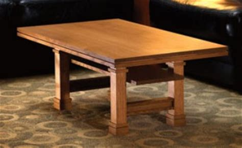 lloyds woodworking frank lloyd wright coffee table plank and plane