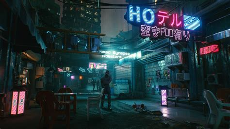 cyberpunk  man walk  hd wallpapers hd wallpapers