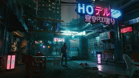 cyberpunk  man walk  hd wallpapers hd wallpapers