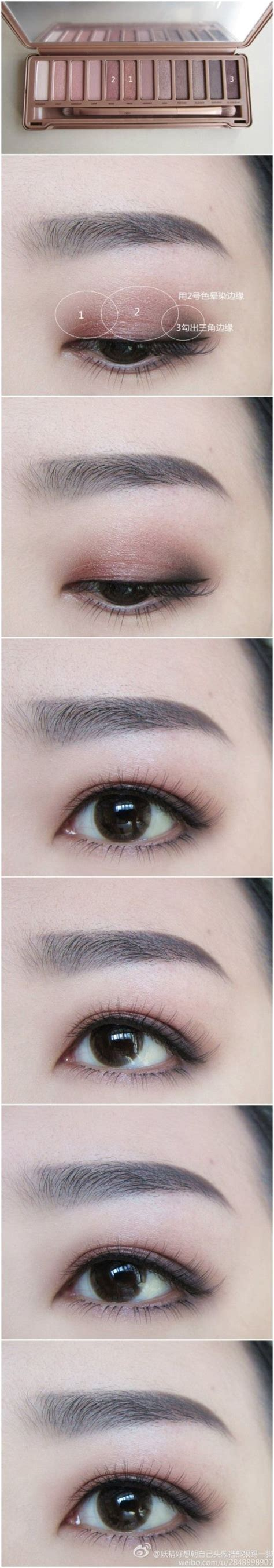 Eyeshadow Korea 50 best images about makeup for asians on