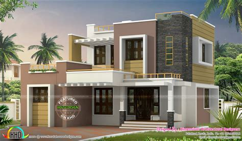 kerala home design 1500 1500 sq ft contemporary home kerala home design and