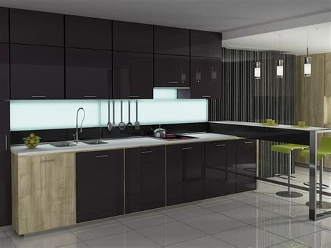 Modern Glass Kitchen Cabinets Glass Kitchen Cabinet Doors
