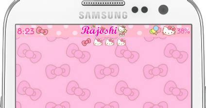 samsung ch themes hello kitty download hello kitty loves bow go launcher theme for