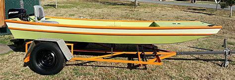 wooden jon boat jon boat photos from kit builders wooden boat kits