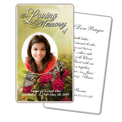 Funeral Template Superstore Company Offers New Line Of Printable Prayer Card Templates Free Printable Funeral Prayer Card Template