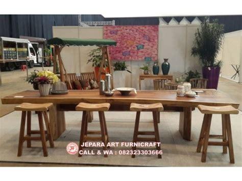 Meja Makan Besar paling laris langka meja makan trembesi antik termurah
