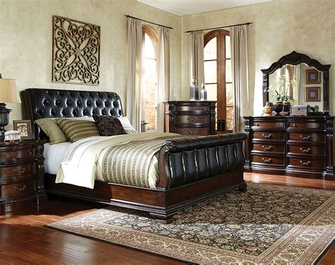 black sleigh bedroom set awesome beautiful sleigh bed set furniture first ideas