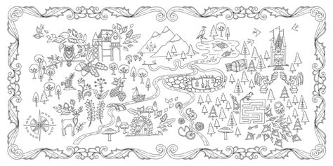 coloring book for adults in dubai enchanted forest an inky quest coloring book