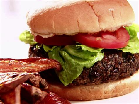 black bean burgers recipe sandra lee food network