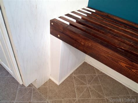 how to build a built in bench with storage built in mudroom bench kitchen sawdust and embryos