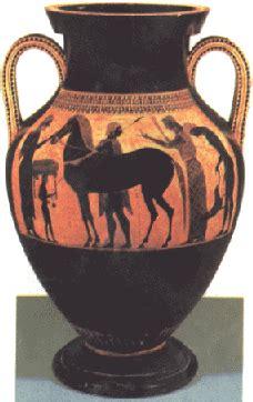 vasi greci a figure nere pittura