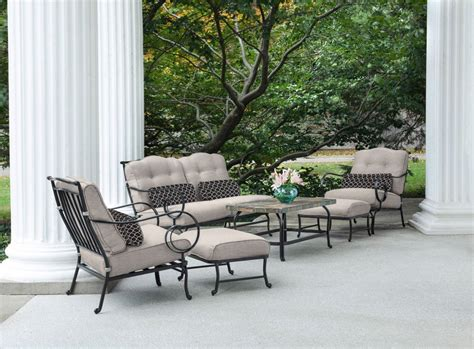hanover oceana  piece outdoor conversation set  deep