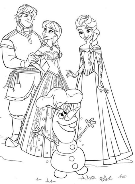 coloring page frozen christmas coloring page frozen family christmas coloring pages