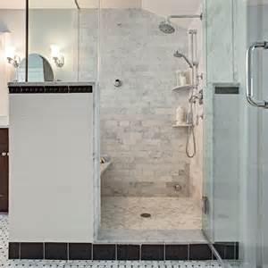 Carrera Marble Bathrooms Classic Carrara Marble Bath In Montclair Nj Bathroom