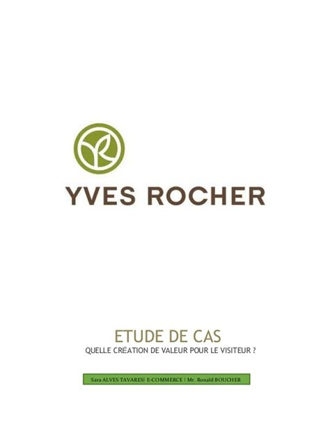 Lettre De Motivation Vendeuse Yves Rocher Cas Yves Rocher