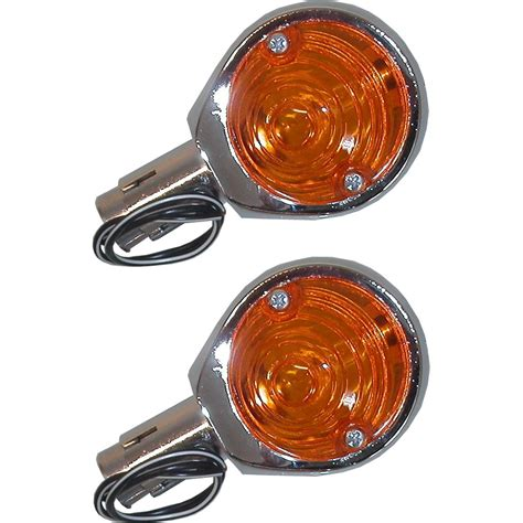 Indicator Mini 1 complete indicator mini 1 quot bar end chrome with lens pair essex motorcycles new used