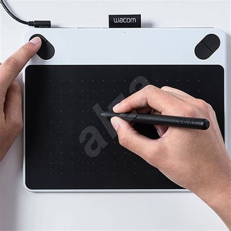 Wacom Intuos Draw Ctl490wo White wacom intuos draw white pen s grafick 253 tablet alza cz