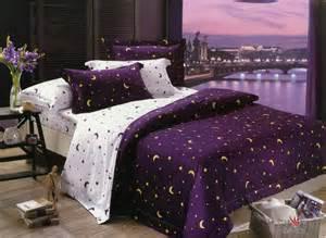 celestial comforter purple celestial bedding separate rooms