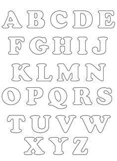 moldes de letras del abecedario para imprimir imagui moldes de letras del alfabeto para imprimir imagui