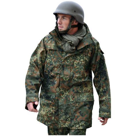 Jaket Parka Army Layer mil tec bw ecwcs jacket flecktarn ecwcs 1st