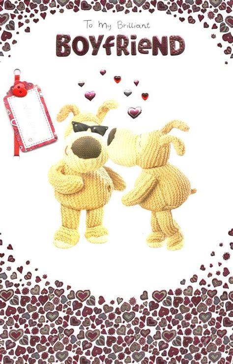 boofle brilliant boyfriend valentines day card cards