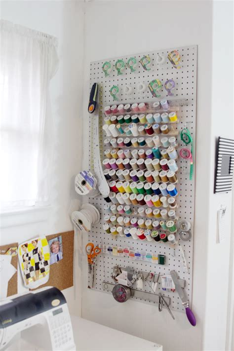 Where I Sew // Sewing Room Tour   see kate sew