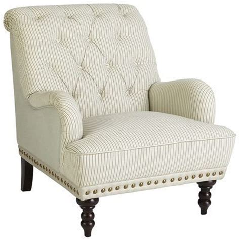 Overstuffed Armchairs by Chas Armchair Seersucker Pier 1 450 Overstuffed And
