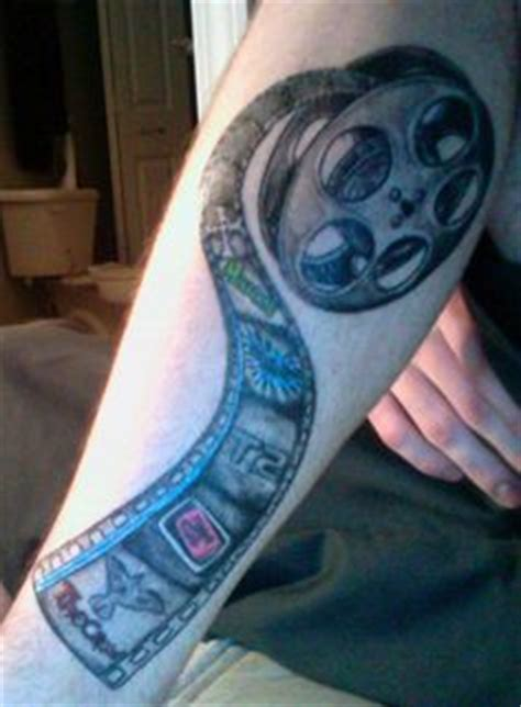 film strip tattoo maybe smaller 1000 images about ideas on