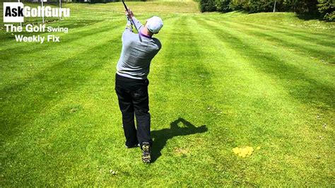 golf swing push the golf swing weekly fix hip sway and push slice shots