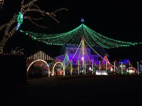 holiday light show nj where to see the best christmas light displays in nj